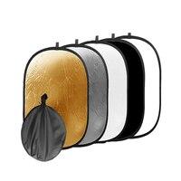 24 * дюймов 36 дюймов 60x90 см 5 в 1 портативный Складная Студия фото складной диск свет светоотражатель для фотосъемки с сумкой
