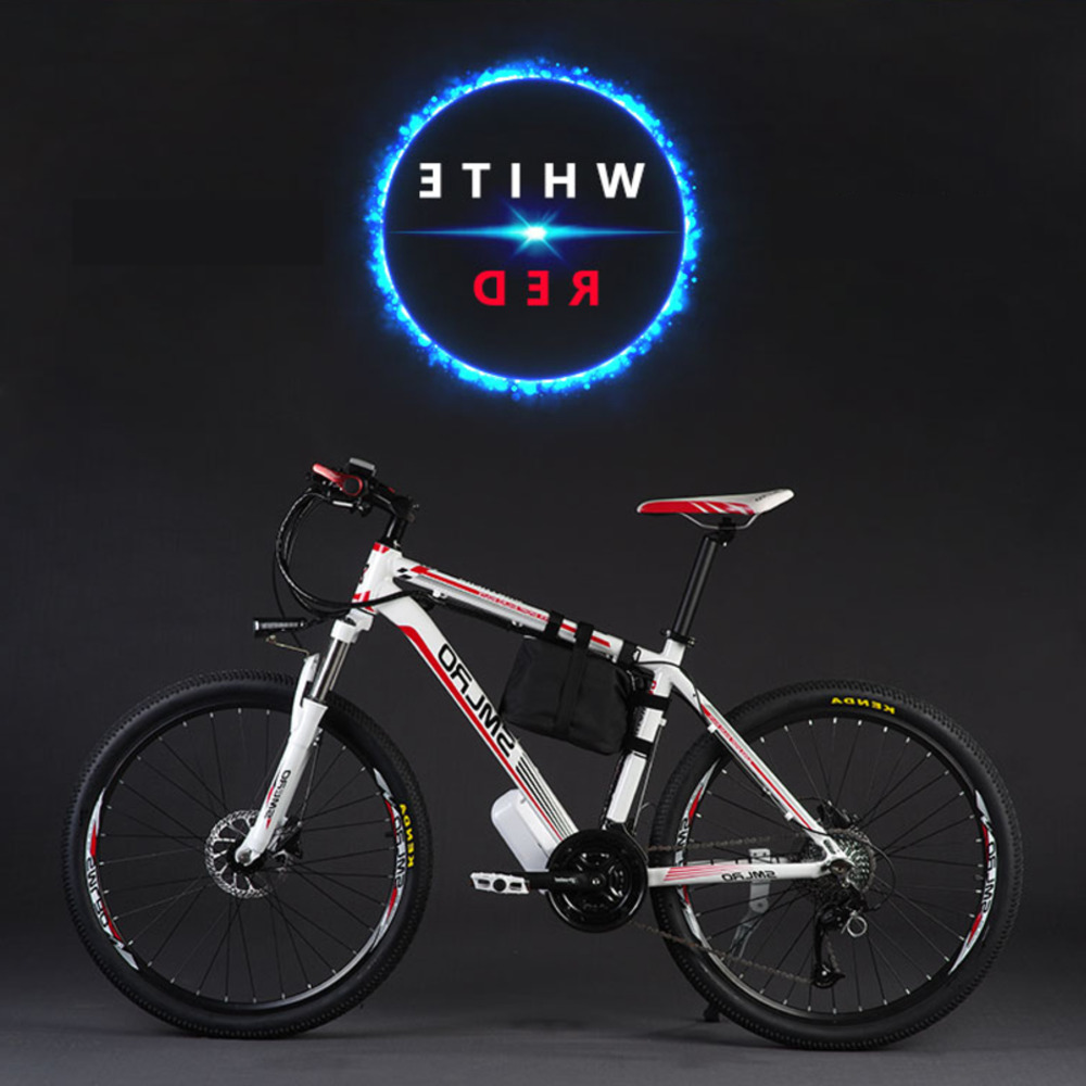 Original 26 Inch 48v 500w 12a Lithium Battery Mountain Electric Bike Shiman0 27 Speed Bicycle Downhill Ebike