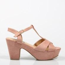 0db3de258c Actualiza SANDALIAS SANDALIA COGIDA NUDE Rosa Serraje Plataforma Mujer-Rosa  FLIPS FLOPS zapatos de Mujer