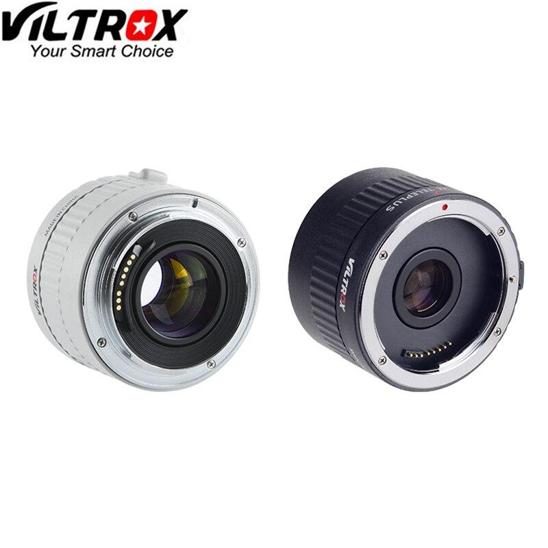 VILTROX C-AF 2X AF Autofocus Objectif Téléconvertisseur Extender Grossissement Caméra Lentilles pour Canon EF Monture Appareil Photo REFLEX NUMÉRIQUE