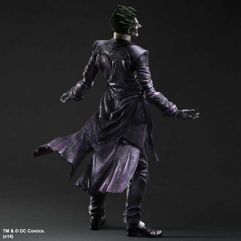 Movie Game Anime Figura Jogar Arts Kai Batman figura Arkham Origens No. 4 The Joker Pvc Action Figure Collectible Modelo brinquedo 26 cm