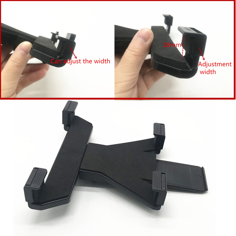 Image 4 - OEM Adjustable tablet cradle holder with 1 inch ball for iPad Air mini 1 2 3 4 and 7 12 inch tablets compatible for ram mounts-in Sports Camcorder Cases from Consumer Electronics