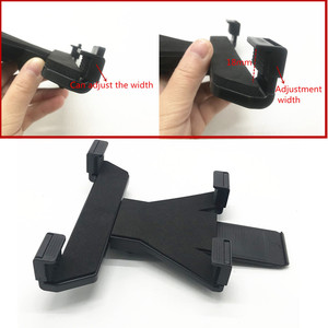 Image 4 - OEM Adjustable tablet cradle holder with 1 inch ball for iPad Air mini 1 2 3 4 and 7 12 inch tablets compatible for ram mounts
