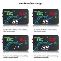 VODOOL Q7 Universal Portable Car HUD 5.5 Inch Car Electronics Accessories Head Up Display KM/H MPH Speedometer Car Display