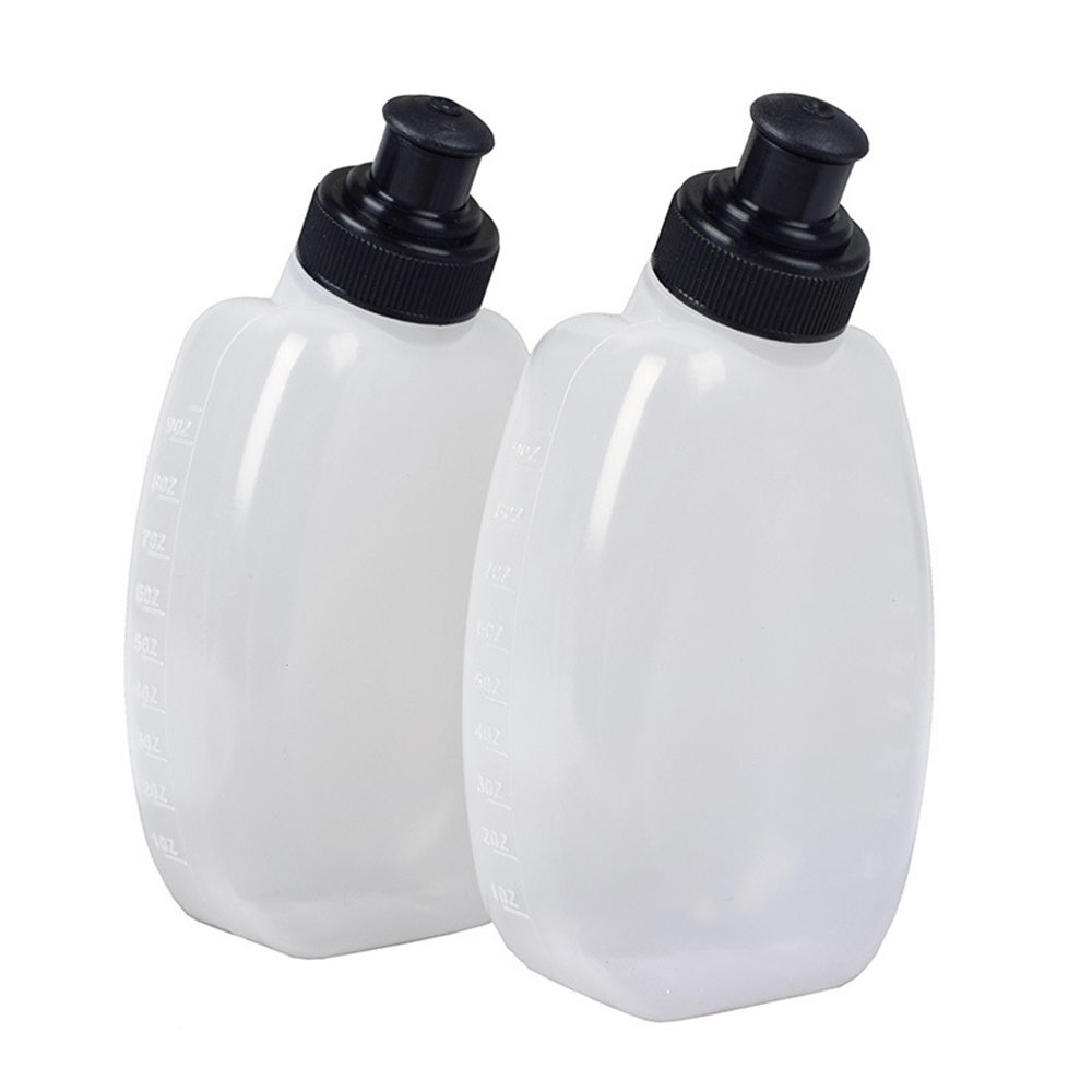 2PCS Outdoor Sports Riding Wrist Kettle Sports Bottle 280ML Walking Running Sports Bottle For Camping Hiking