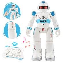 usb зарядка робот Танцующая Поющая история книга жесты фигурка управления RC робот игрушка для мальчиков детей