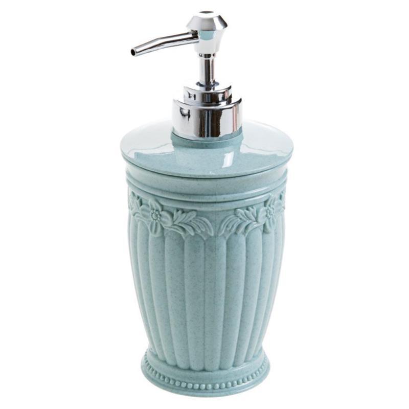 PP Emulsion Split Storage Bottle Kitchen Bathroom Soap Dispenser Nozzle Built In Hand Lotion Pump Fitting Hot 400ml