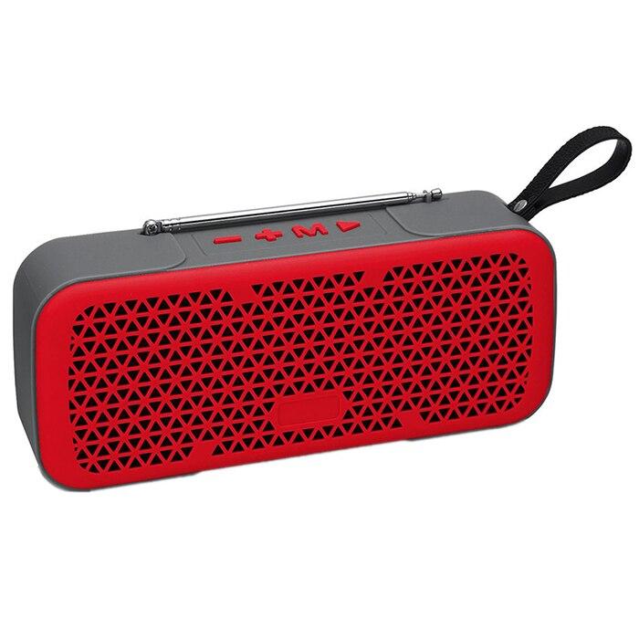 Tragbares Audio & Video Unterhaltungselektronik M8 Im Freien Wasserdichte Tragbare Bluetooth Audio Unterstützung Karte Radio Retro Bluetooth Lautsprecher Mit Antenne Unterstützung Usb/tf/aux