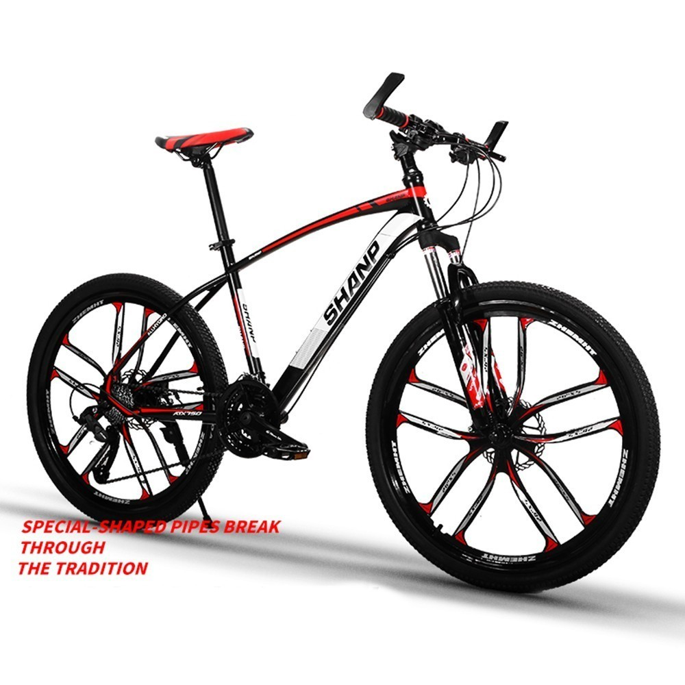 Mountain Vehicle Bicycle Adult Bicycle 24/27 Variable Speed Shock Absorption One Round Men And Student Highway Racing ZXC2