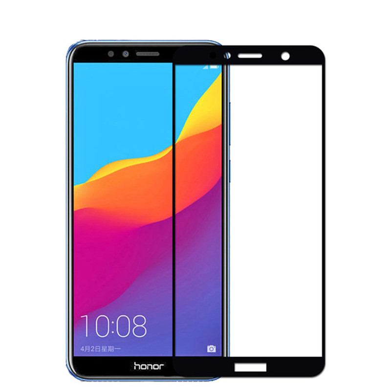 3D Full Cover Protective Glass On Honor 7A Pro Tempered Glass For Huawei Honor 7C Pro C7 7 C Screen Protector Case HonorA7 Film