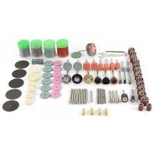 цена на 161pcs Electric Grinding Polishing Cutting Grinding Rotary Power Tool Grinding tool set