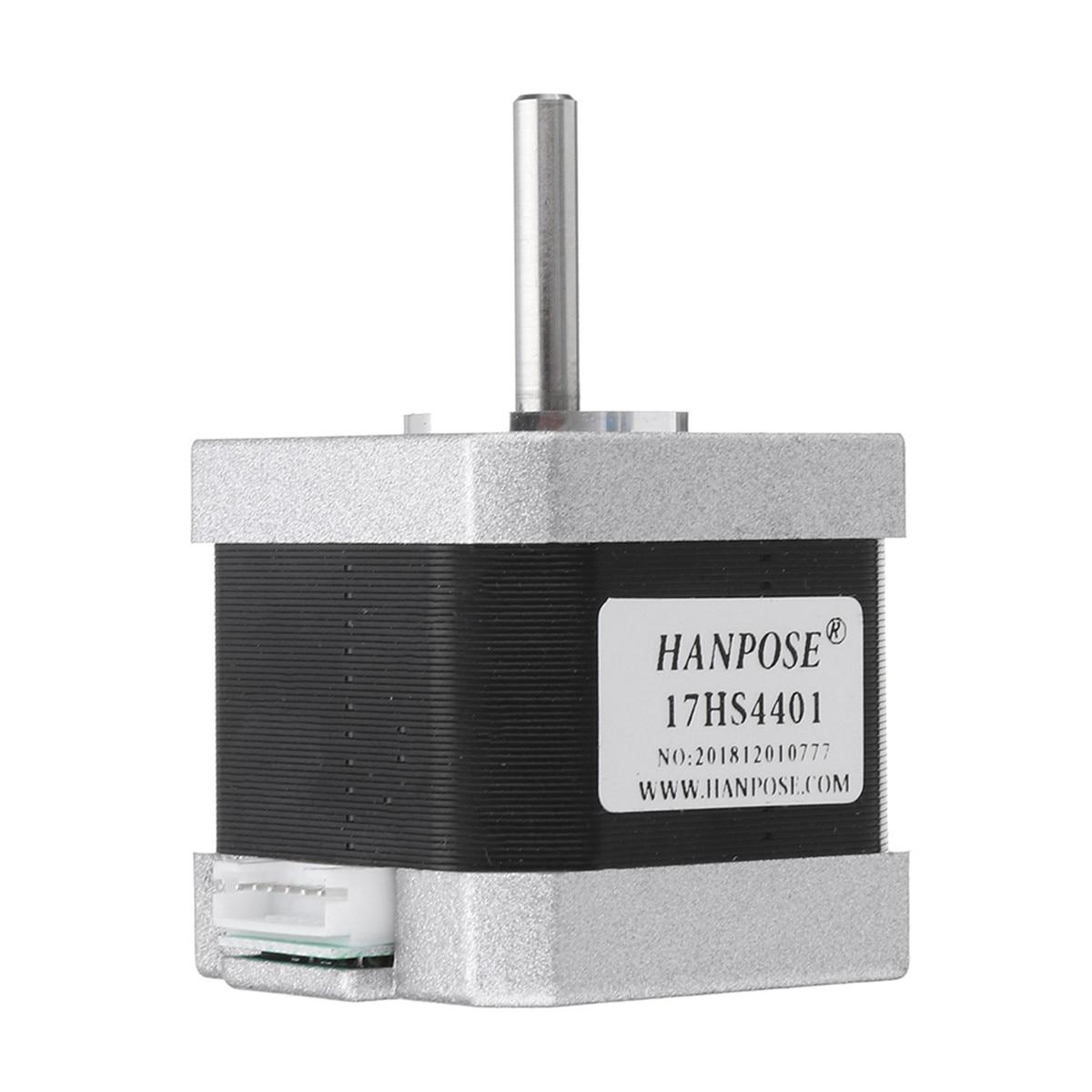 1 pièces noir 17HS4401 40mm Nema 17 moteur pas à pas 42 moteur 42BYGH 1.7A 40N. cm 4-plomb pour CNC imprimante Laser 3D moniteur équipement