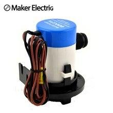 Bilge Pump 3/4″ hose MKBP1-G350-02 350GPH 12v  Electric Water Pump