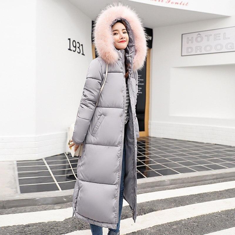 Coton Le pink De Casual Parkas Chaud Black Dans Col Haute Plus Veste Femme Femmes green Hiver Capuche À Fourrure Manteaux Survêtement gray 2018 Qualité gEqtp