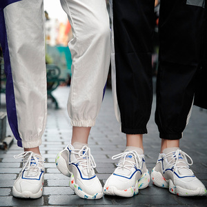 Image 4 - Schuhe Für Männer Turnschuhe Casual Männer Socke Schuhe Atmungs Tenis Masculino Adulto High Top Mann Trainer Zapatos Hombre Sapatos