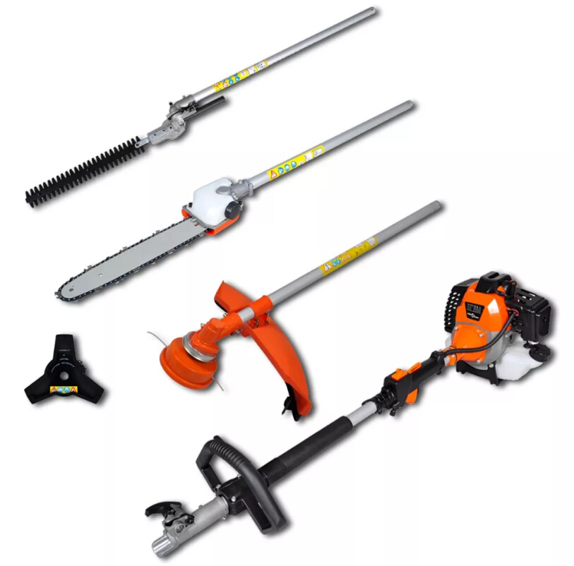 4-In-1 Multifunctional Brushcutter 4-In-1 Multi-Tool Set Includes A Hedge Trimmer Chain Saw, Brush ,Cutter And Lawn Mower4-In-1 Multifunctional Brushcutter 4-In-1 Multi-Tool Set Includes A Hedge Trimmer Chain Saw, Brush ,Cutter And Lawn Mower