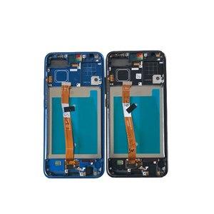 """Image 3 - 5.84 """"orijinal M & Sen Huawei onur 10 için LCD ekran + dokunmatik Panel sayısallaştırıcı ile çerçeve + parmak izi onur 10 için ekran"""