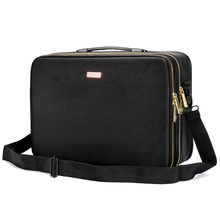Canvas cosmetic bag portable waterproof canvas travel toiletry women makeup
