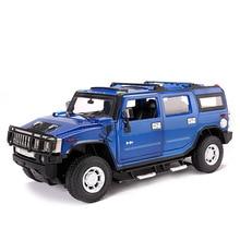 2019 1:24 האמר H2 סגסוגת דגם Diecast מתכת מכוניות צעצועים לילדים Brinquedos Juguetes Oyuncak Dropshipping Hotwheelsing