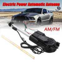 Newest 2018 DC 12V Universal Car Electric Aerial Car Motors AM FM Radio Electric Power Adjustable Full Automatic Antenna Aerial