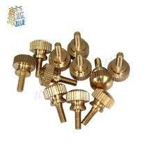 Twist-Bolts Screwdriver Hand-Tighten Brass Round M4 M3 10pcs High-Head
