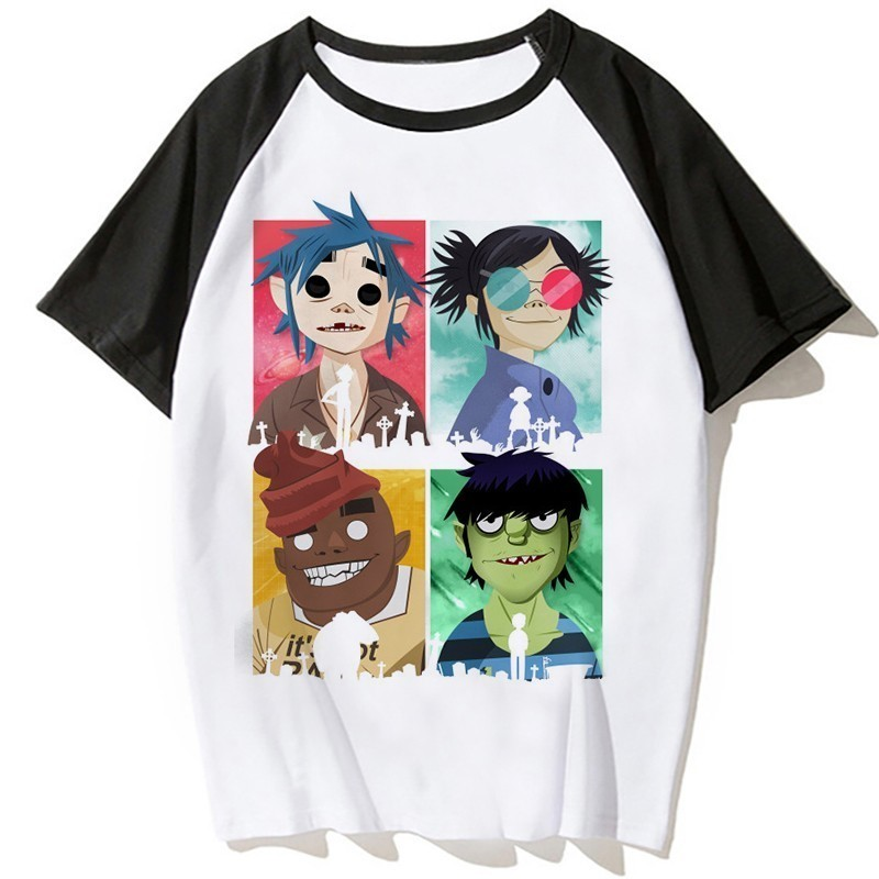 GekhHaon FLCL MansShort Sleeve T-Shirt Athletic Cool Running Top T-ShirtBlack