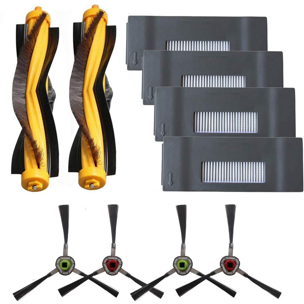 Запасные части Deebot M80, M80 Pro-фильтры и боковые щетки и основная щетка