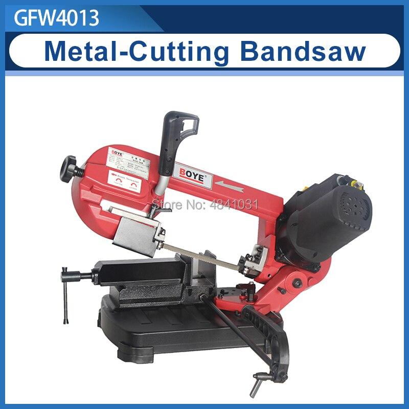 Scie à ruban à métal/scie à ruban métallique/scie à Angle de rotation/découpeuse de métal BOYE GFW4013 5