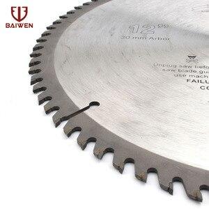 "Image 3 - 12 ""305mm מסור עגול להב עץ אלומיניום כלי חיתוך ביצרו קרביד 40 60 80 100 שיניים"