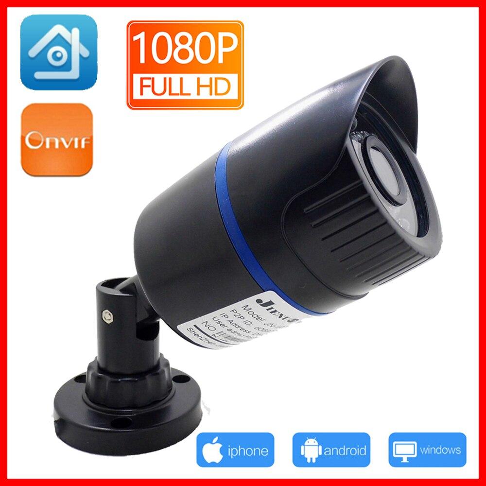 JIENUO ip Kamera 720 P 960 P 1080 P HD Cctv Sicherheit Im Freien Wasserdichte IPCam Infrarot Hause Überwachung