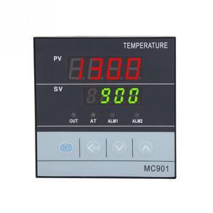 Image 5 - MC901 Kỹ Thuật Số Không Thấm Nước PID Điều Khiển Nhiệt Độ K Loại PT100 Đầu Vào Cảm Biến Tiếp Sức SSR Đầu Ra