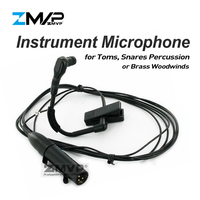 ZMVP Professional BETA 98H/C Flexible Gooseneck Cardioid Condenser BETA 98 Instrument Microphone For Brass Woodwinds Percussion