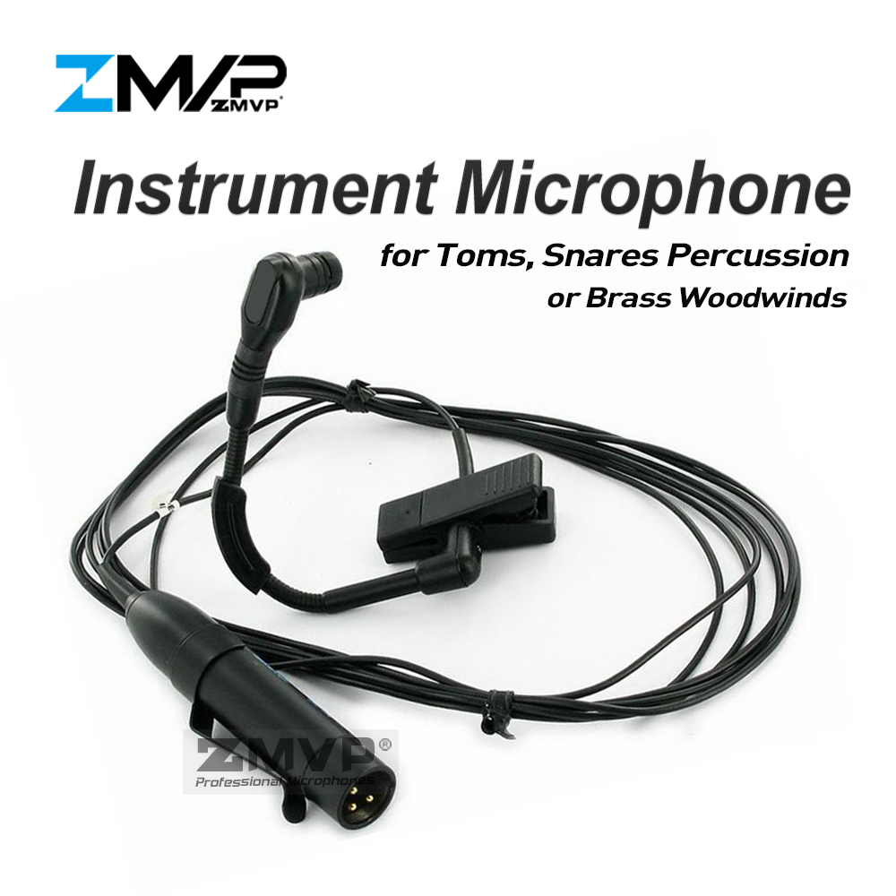 ZMVP Professional BETA98H/C Flexible Gooseneck Cardioid Condenser BETA98 Instrument Microphone For Brass Woodwinds Percussion