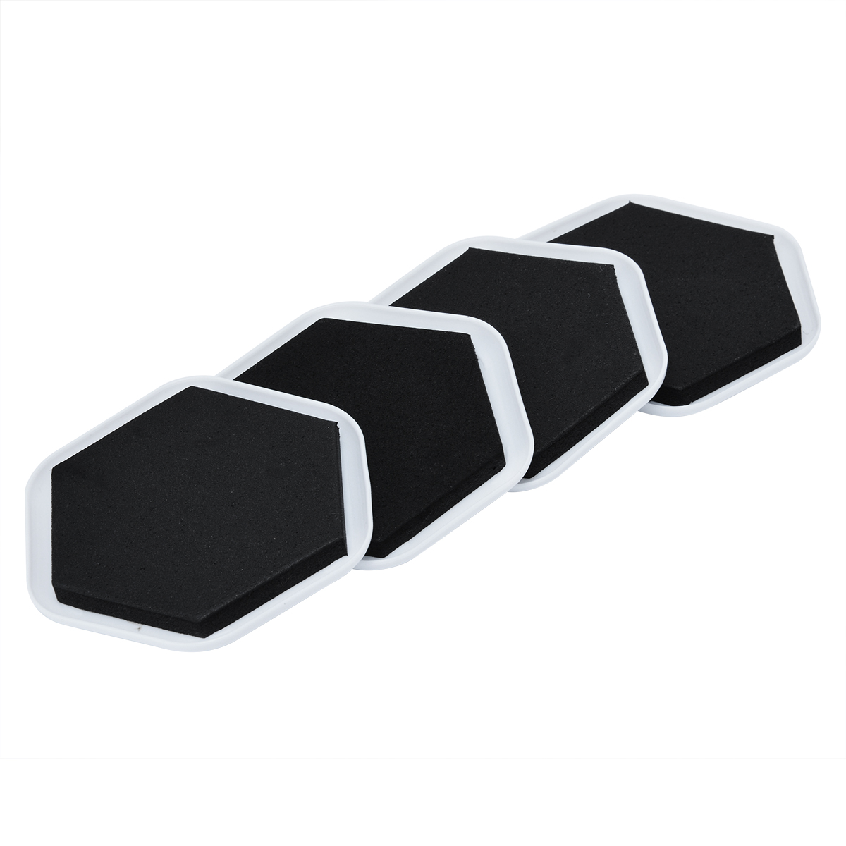 4pcs Heavy Duty Furniture Moving Sliders Pad Floor
