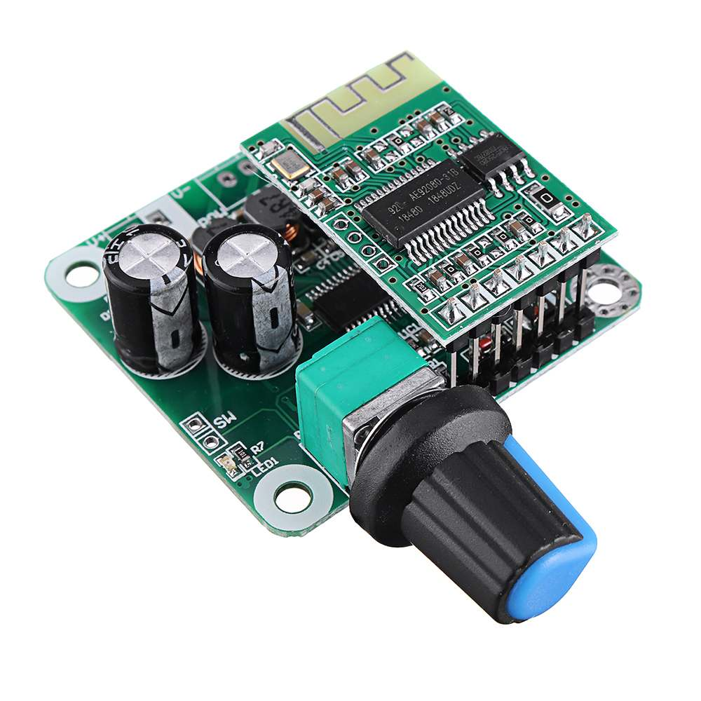LEORY 1PC TPA3110 Bluetooth 4.2 Digital Amplifier Board 15Wx2 Class D Stereo Power Amplifier DC 8V-26V