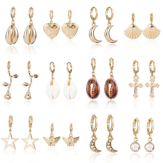 Shell Earrings - 23 Styles 1