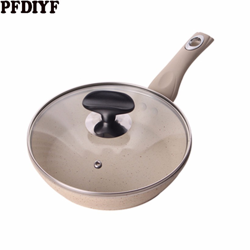 Thickening Maifan Stone Non-stick Frying Pan Induction Cooker Special Gas Stove Universal Suitable Household Pancake Steak Pan