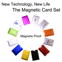 5Pcs/Set RFID Shielded Sleeve Card 13.56mhz IC RFID Card Blocking  Protection NFC Security Card Prevent Unauthorized Scanning цена 2017