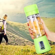 Rechargeable Portable USB Rechargeable Electric Fruit Juicer Maker Cup Bottle Mini Mixer WXV Sale цена и фото