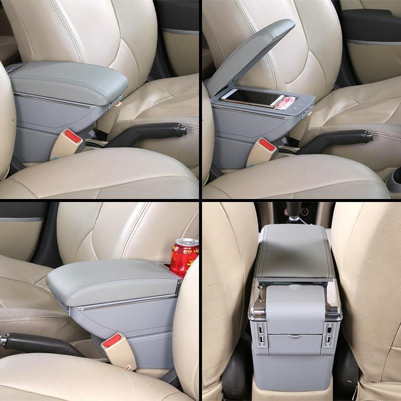 Accessory Parts Car Car styling Arm Rest Accessories Decoration Decorative Modification Interior Armrest Box FOR Nissan Sylphy in Armrests from Automobiles Motorcycles