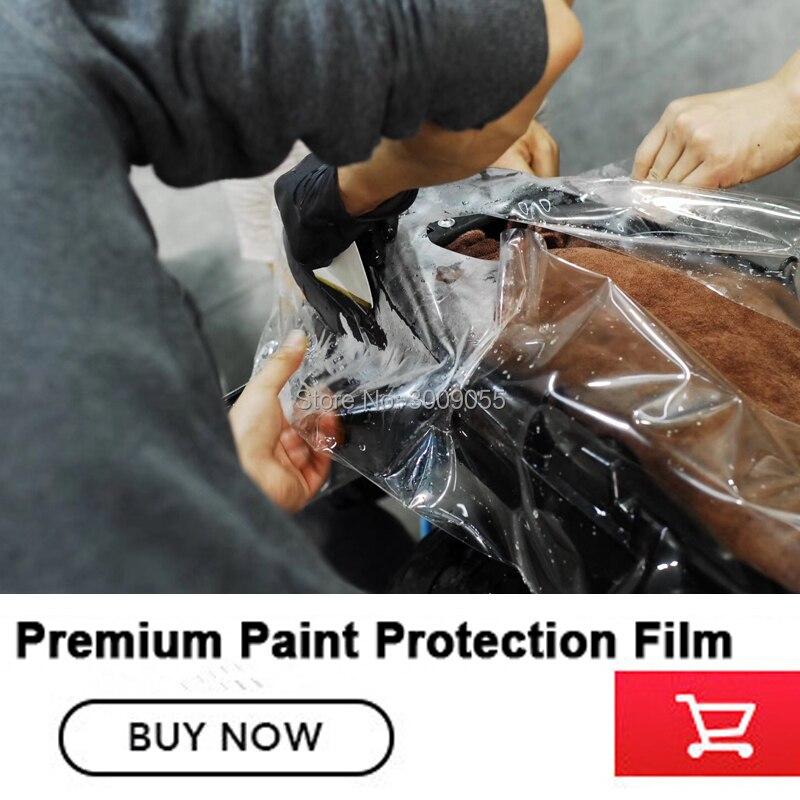 Film transparent de haute qualité de film de protection de peinture de voiture avec le revêtement de finition auto-cicatrisant de 1.52 m * 15 m