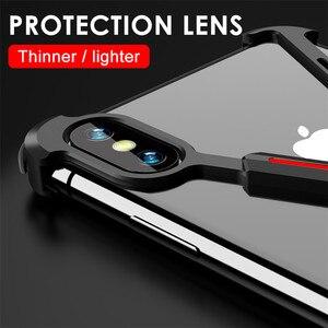 Image 5 - R JUST Aluminium Metal Blote Frame Case Voor iPhone XR XS MAX Shockproof X Vorm Bumper Cover Voor iPhone XS Max X XR Bescherm Case