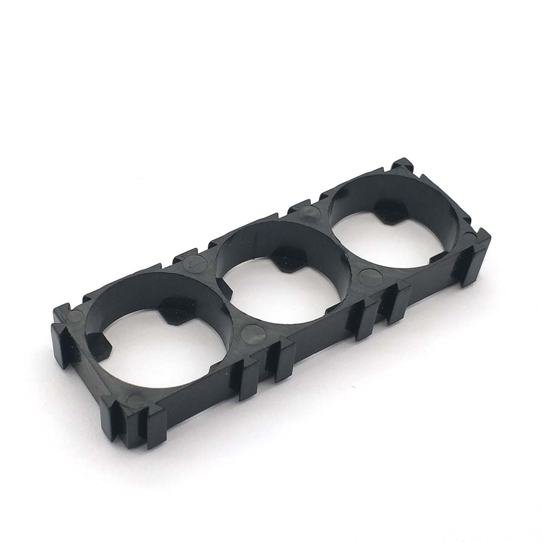 21700 3x Battery Holder Bracket Cell Safety Anti Vibration Plastic Brackets For 21700 Batteries