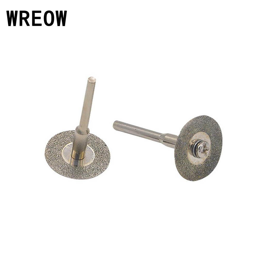 "8pcs 50mm 2/"" Diamond Cutting Discs Cut Off Blade Wheels Arbors Set Rotary  Tool"