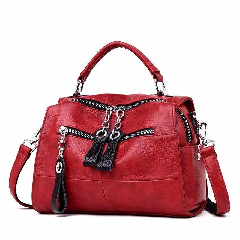 2019 маленькие многофункциональные рюкзаки для девочек Sac A Dos женская сумка на плечо с кисточками женский кожаный рюкзак высокого качества