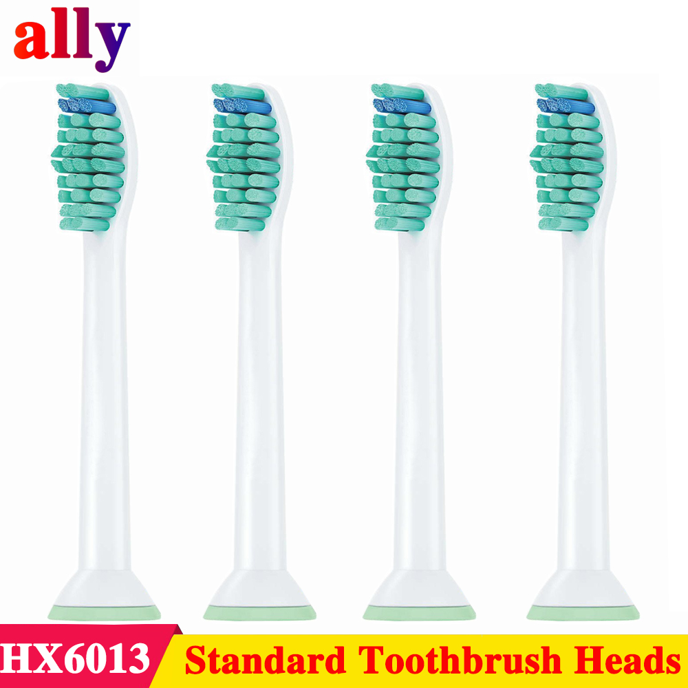 4pcs Replacement Toothbrush Heads for Philips Sonicare Fits 2 Series ProResults, FlexCare Healthy White Platinum EasyClean image