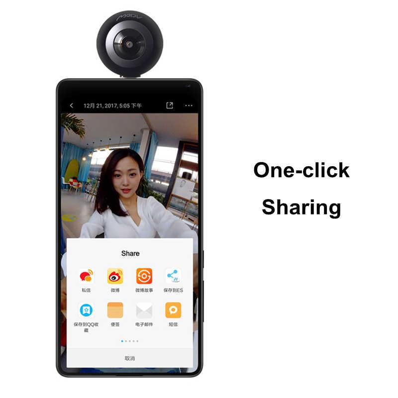 Xiaomi Madv ミニ 13mp Cmos センサー 360 度パノラマカメラ Vr のための Huawei 社の Android スマート携帯ポコ電話 Pocophone F1 タイプ C