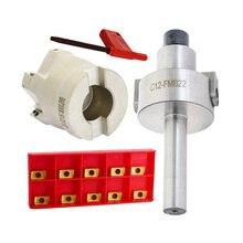 1set C12 FMB22 Shank + BAP300R 50 22 5T Face Milling CNC Cutter 10pcs APMT1135 Inserts For Power Tool