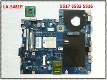 LA-5481P для acer 5516 5517 5532 Материнская плата ноутбука MBPGY02001 NCWG0 LA-5481P для acer eMachines E627 MB. PGY02.001 100% тестирование