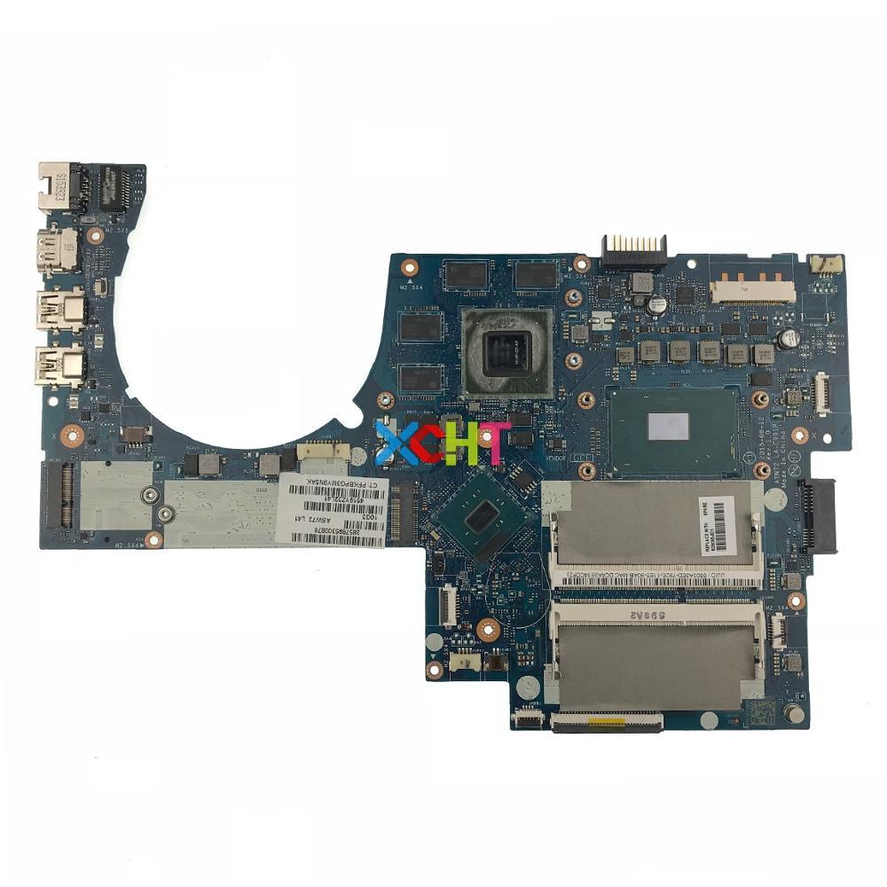 829066-601 829066-001 LA-C991P w 950M/4GB i7-6700HQ CPU for HP ENVY NOTEBOOK 17-N Series 17T-N100 PC Motherboard Mainboard
